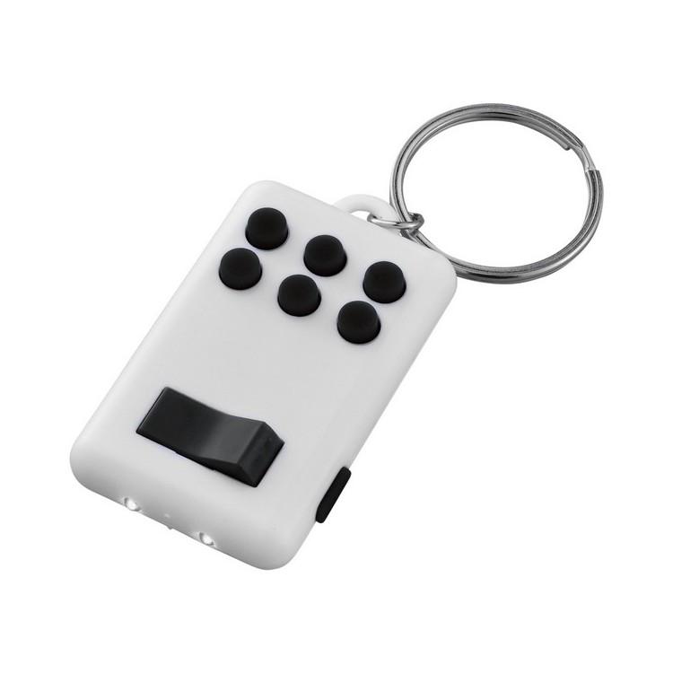 Mini lampe flip and click - Porte-clés lumineux à prix de gros
