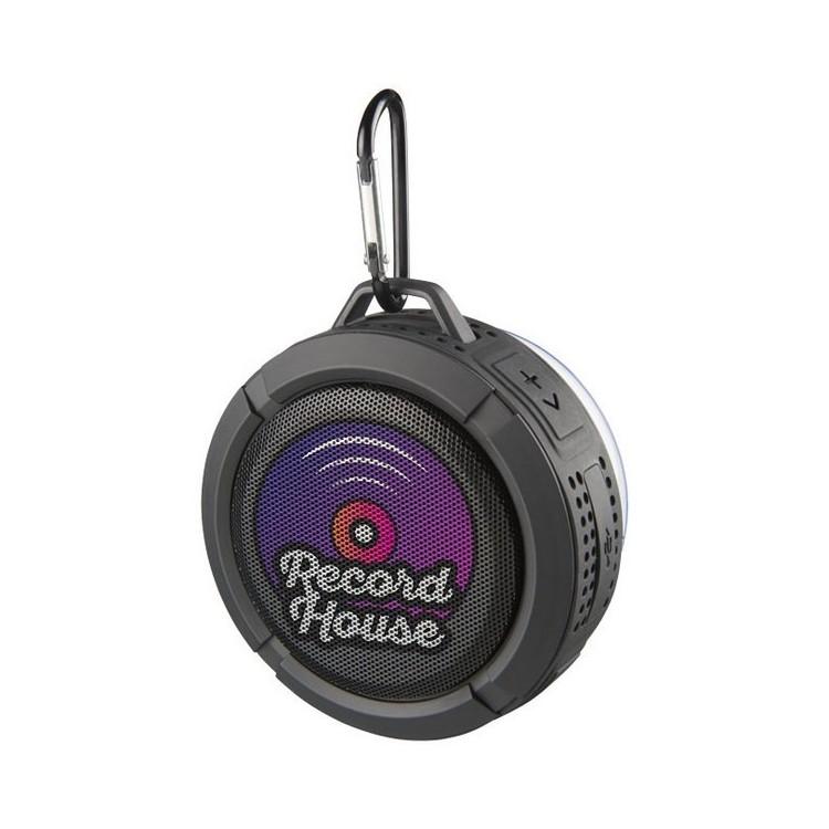 Enceinte Bluetooth® pour douche et extérieur Splash à prix grossiste - Enceinte à prix de gros