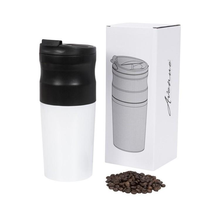 Cafetière électrique portable tout-en-un à infusion 420ml - moulin à café à prix grossiste