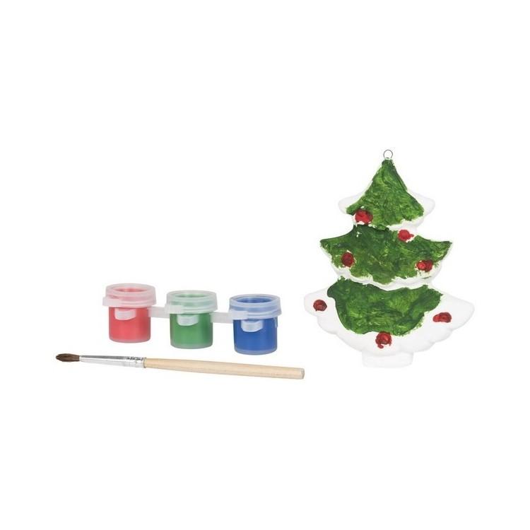 Peindre un arbre de Noël - Décoration à prix de gros