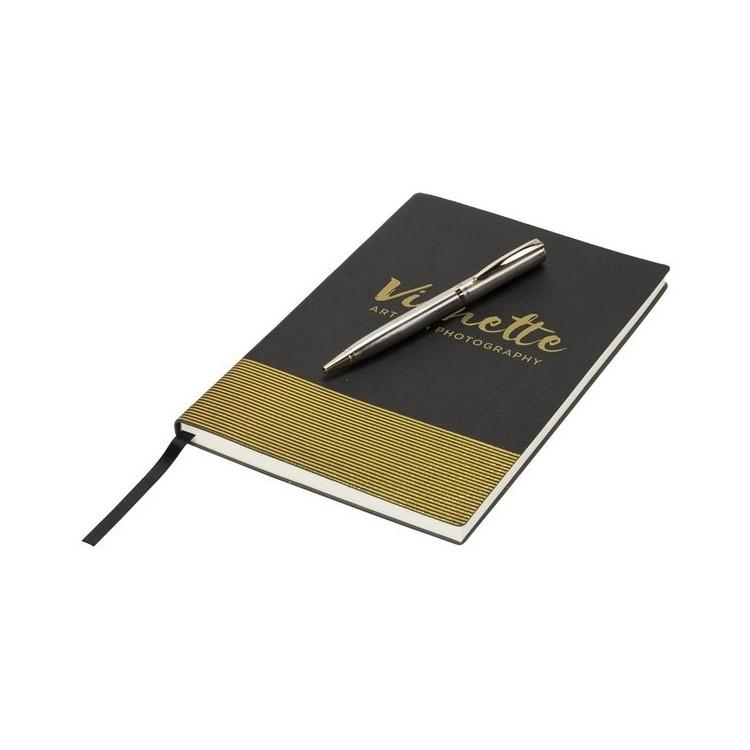 Ensemble cadeau carnet et stylo Midas à prix grossiste - Bloc-notes à prix de gros