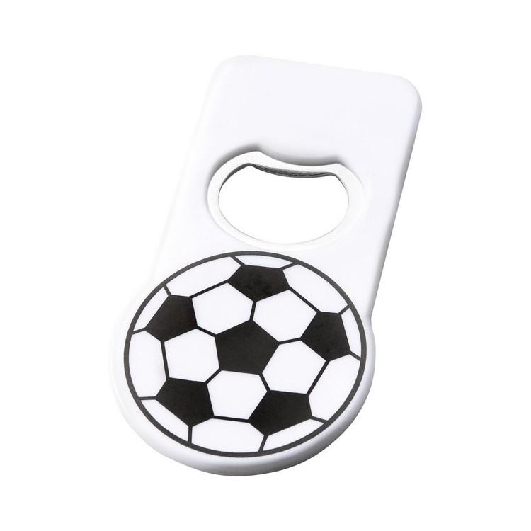 Décapsuleur en forme de ballon de football Niki avec aimant à prix grossiste - Décapsuleur à prix de gros