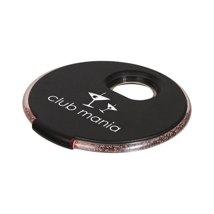 Sous-verre à LED Beau avec décapsuleur à prix de gros - Dessous de verre/plat à prix grossiste
