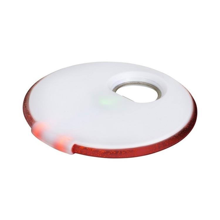 Sous-verre à LED Beau avec décapsuleur à prix de gros - sous-verre à prix grossiste