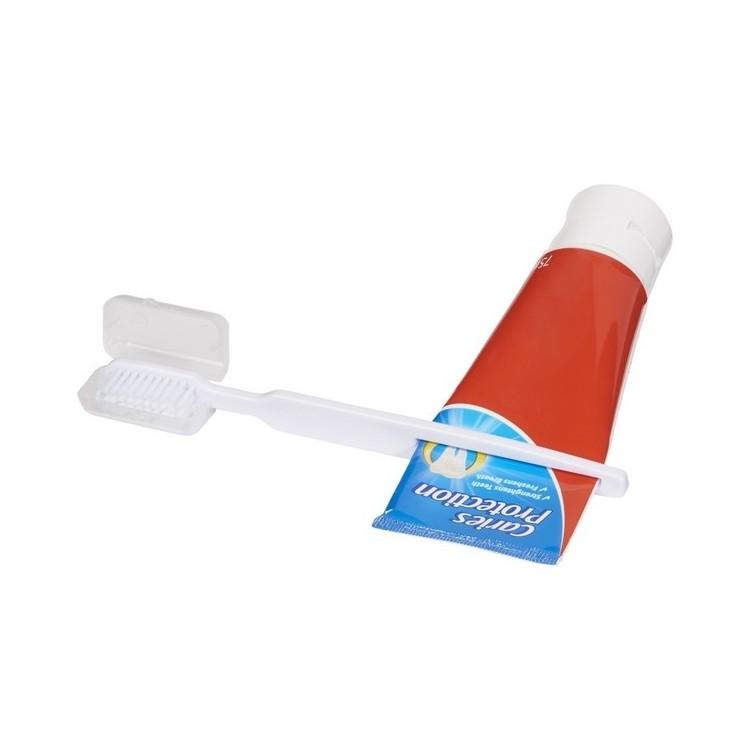 Brosse à dents Dana avec presse-dentifrice - Brosse à dents à prix de gros