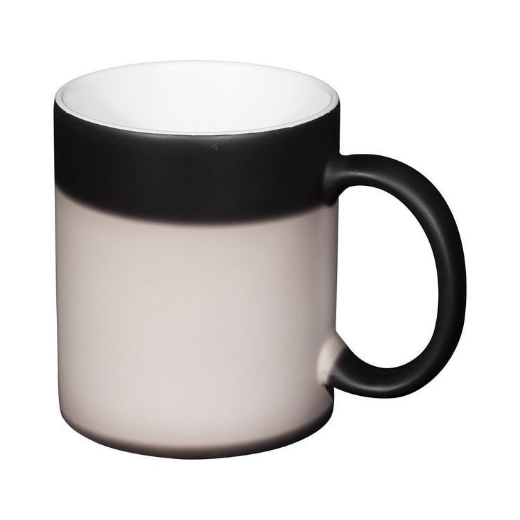 Mug de 330 ml en céramique avec revêtement thermosensible Kaffa à prix de gros - Mug à prix grossiste
