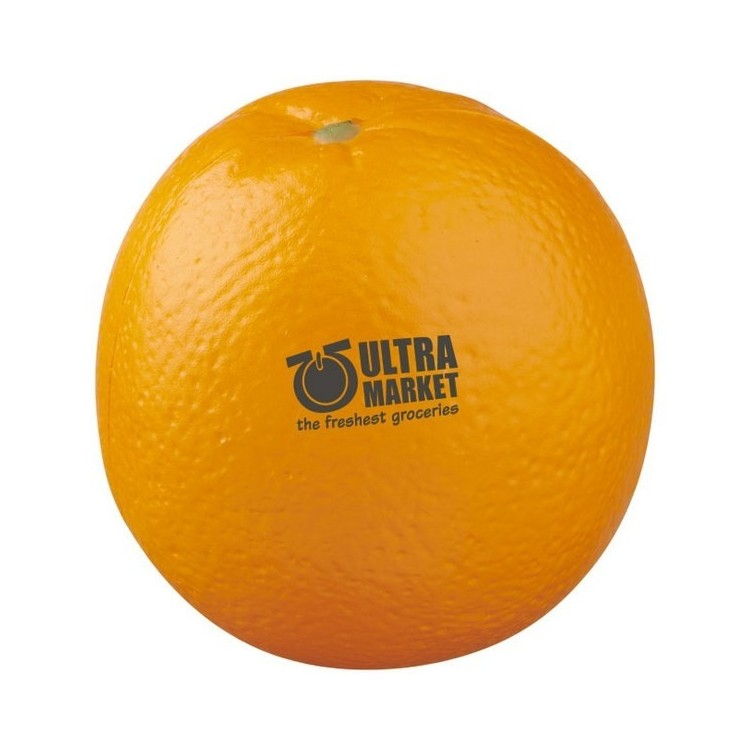 Orange anti-stress à mémoire de forme Odin - Antistress à prix grossiste