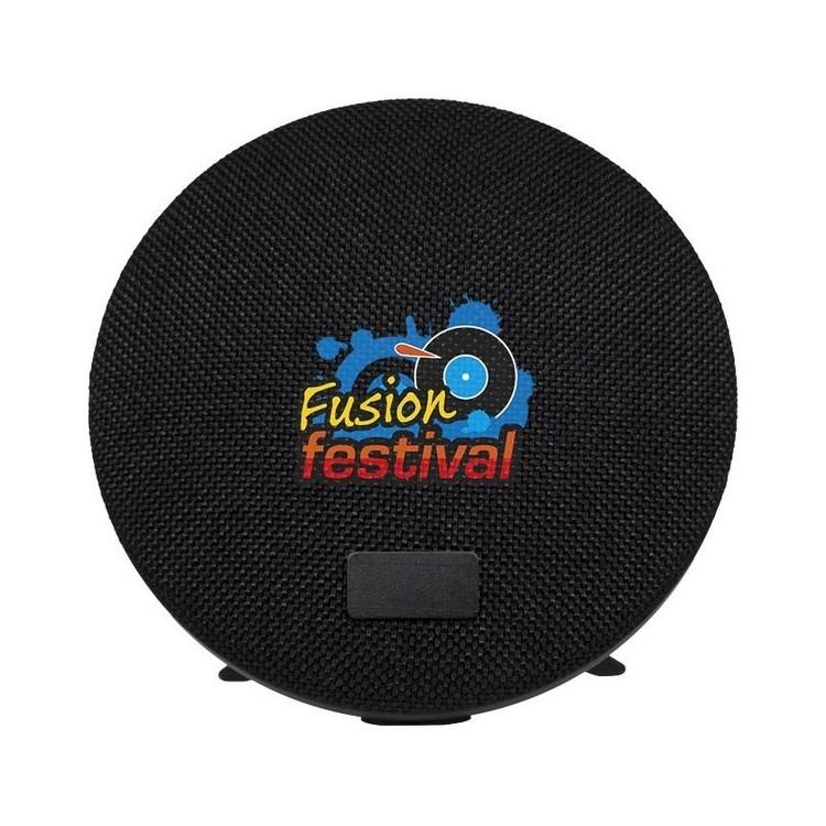 Support d'enceinte Bluetooth en tissu Wool - Enceinte à prix de gros
