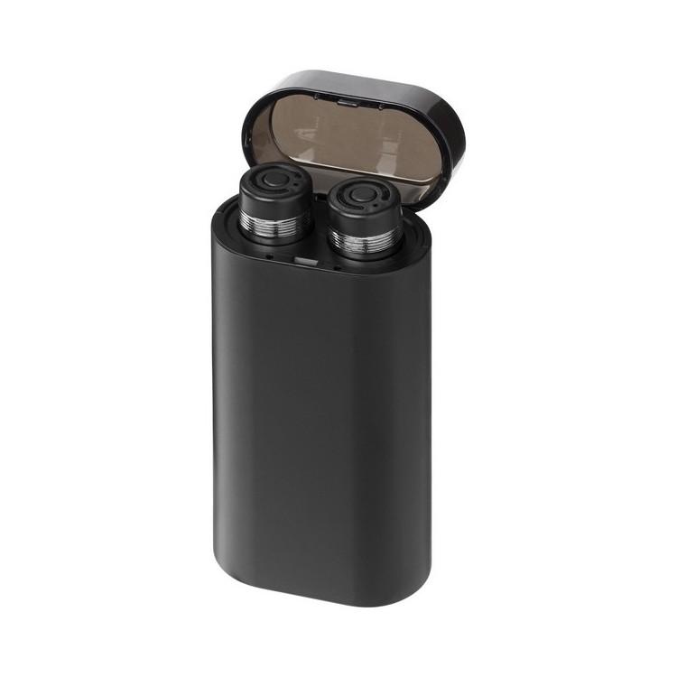Écouteurs Glow sans fil avec batterie de secours lumineuse à prix grossiste - Ecouteurs bluetooth à prix de gros