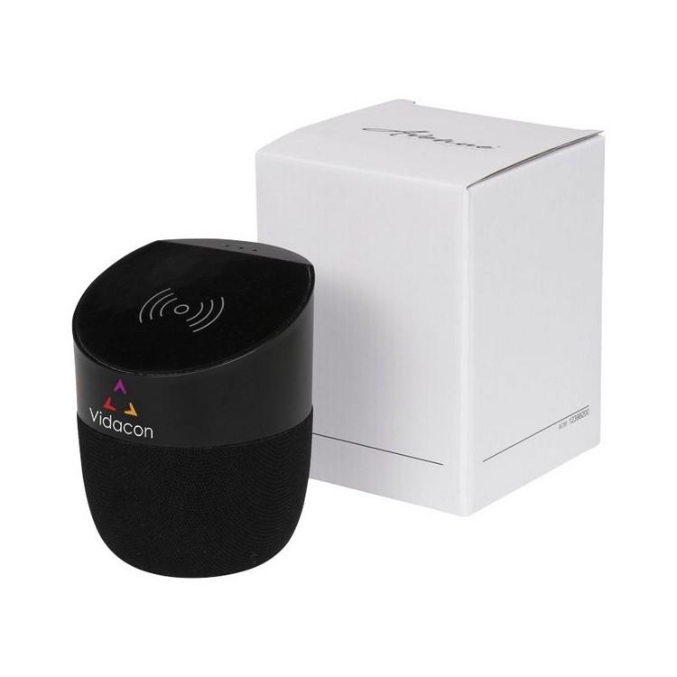 Enceinte et banque d'alimentation sans fil Jill - Bluetooth à prix de gros