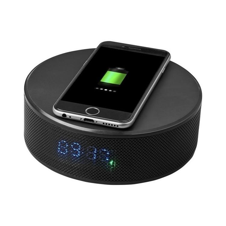 Enceinte réveil pour recharge sans fil Circle à prix de gros - Bluetooth à prix grossiste