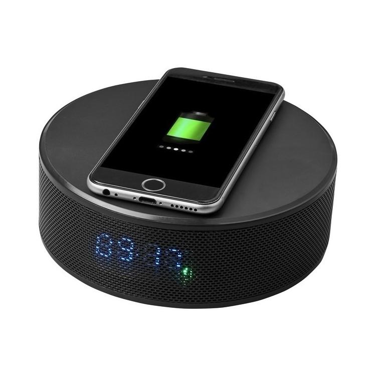 Enceinte réveil pour recharge sans fil Circle à prix de gros - Réveil à prix grossiste