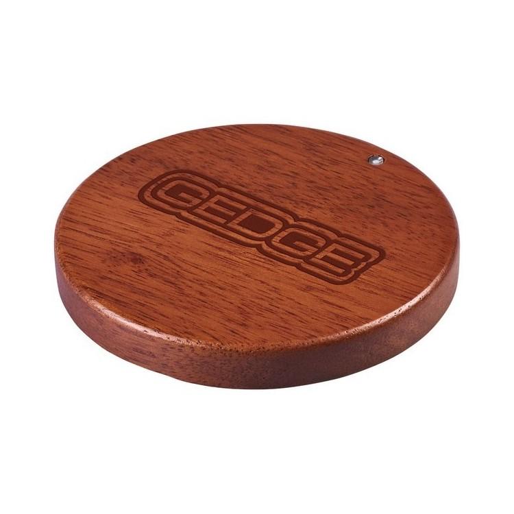Tapis de charge sans fil en bois Bora - Produits en bois à prix grossiste