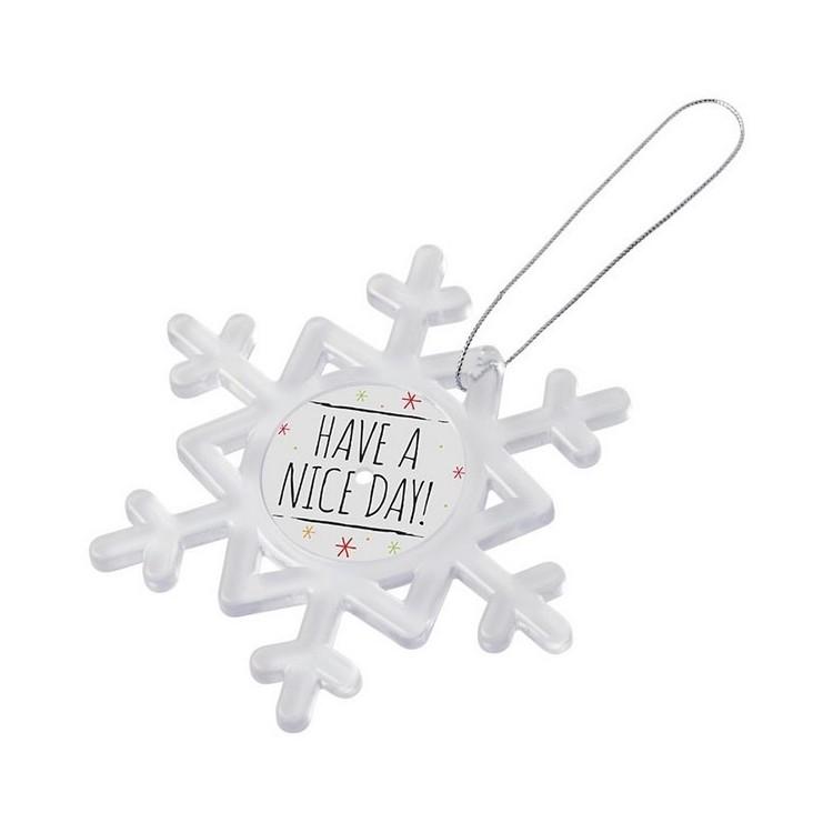 Décoration Elssa en forme de flocon de neige - Décoration à prix grossiste