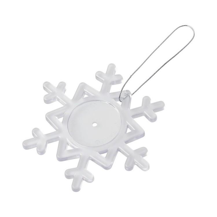 Décoration Elssa en forme de flocon de neige - Accessoire de décoration à prix grossiste