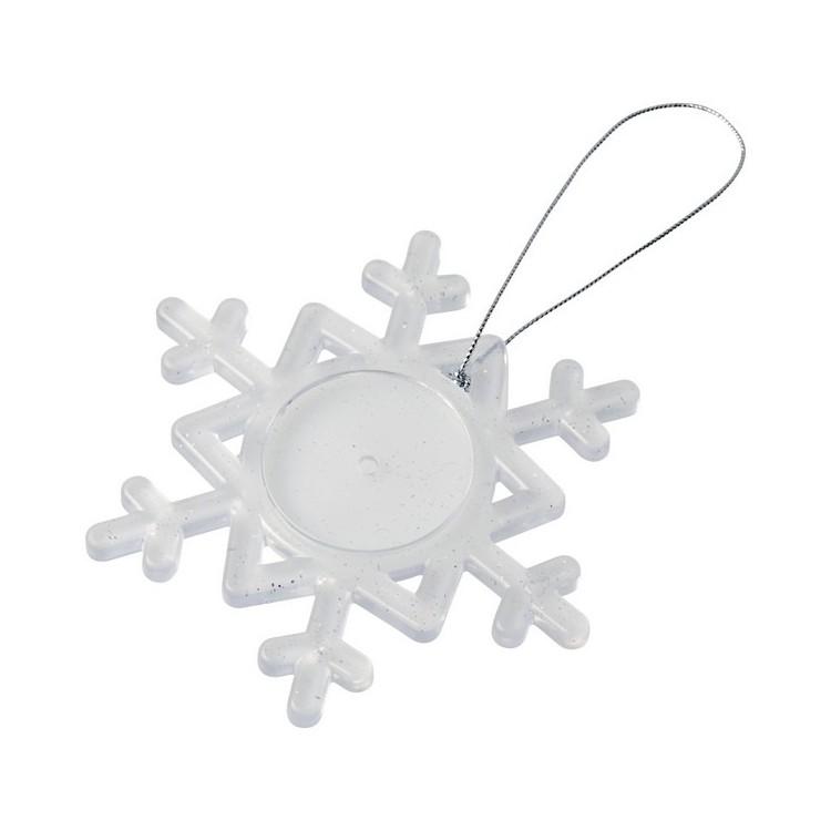 Décoration Elssa en forme de flocon de neige - Accessoire de noël à prix grossiste
