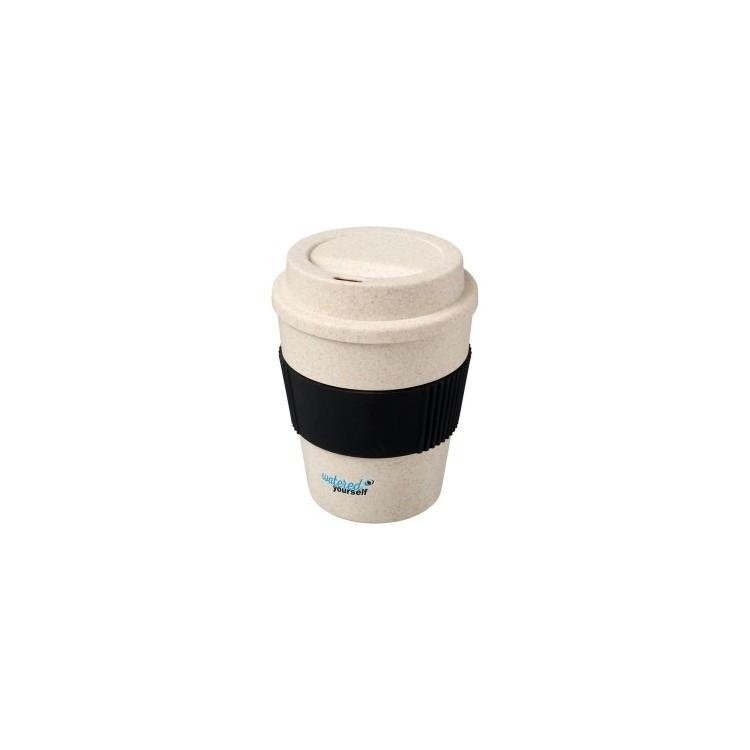 Gobelet 350ml en paille de blé Oka - Equitable & Durable à prix de gros