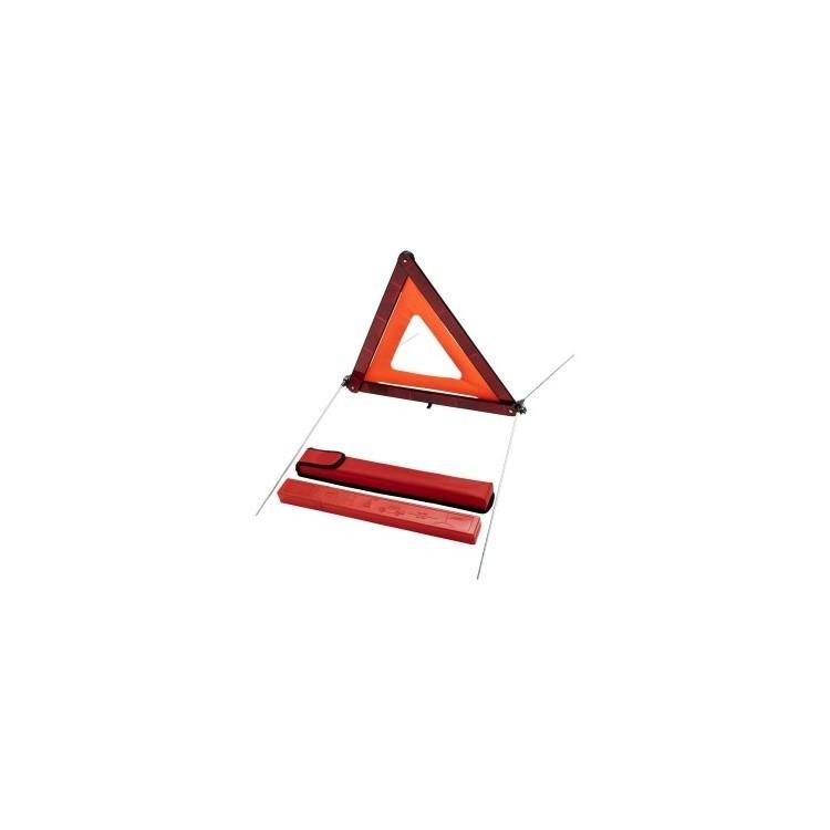 Triangle de sécurité et sa pochette de rangement Carl - Accessoire auto à prix de gros