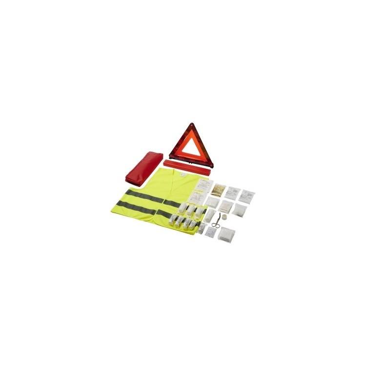 Kit de sécurité trio pour voiture Joachim - Gilet jaune à prix grossiste