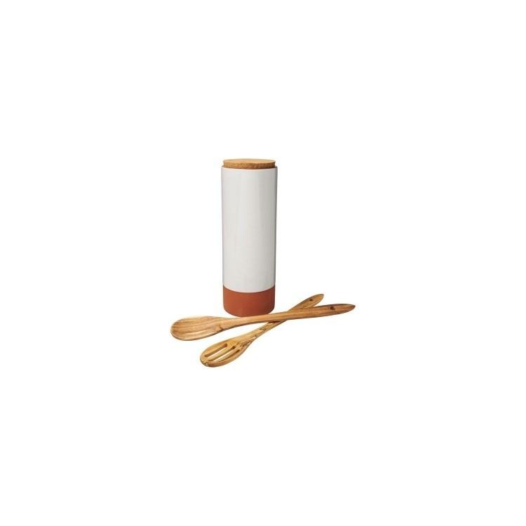 Porte-pâtes Terracotta avec cuillères - Ustensile de cuisine à prix de gros