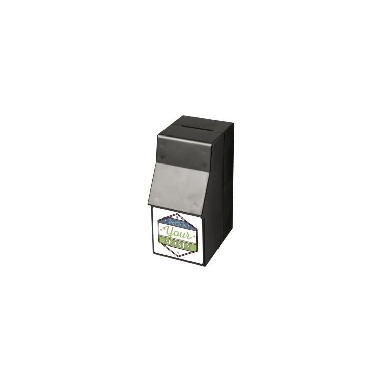 Tirelire plastique Capital en forme de distributeur - Tirelire à prix grossiste