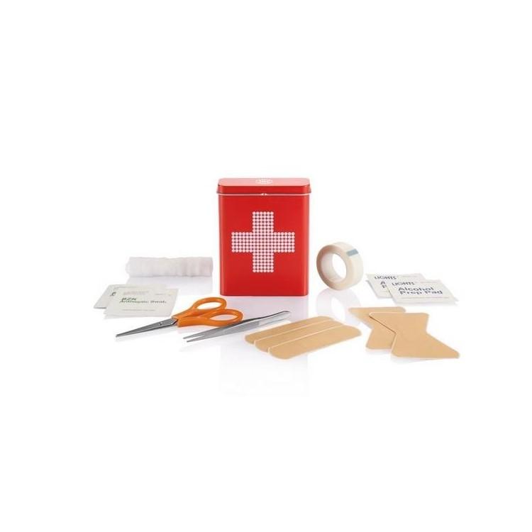 Boîte métal premiers Secours - Kit premiers secours à prix de gros