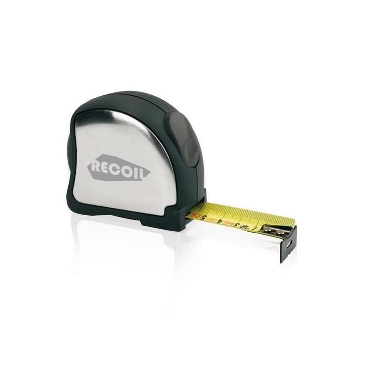 Mètre acier inoxydable 5m/25mm à prix de gros - Accessoire de bricolage à prix grossiste