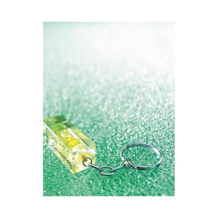 Porte-clés / niveau à bulle - Porte-clés 2 usages à prix grossiste