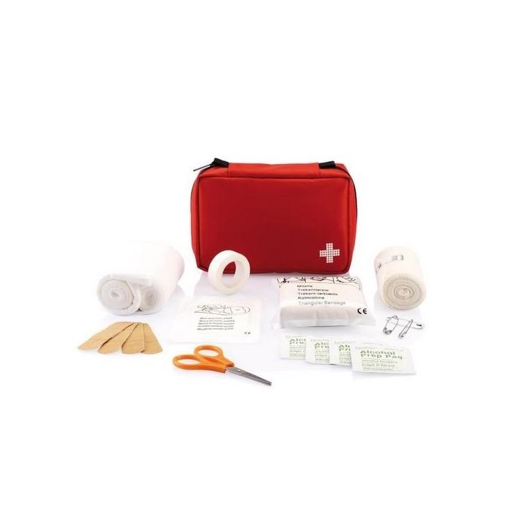 Kit de premiers soins de la taille d'une enveloppe - Trousse de secours à prix grossiste
