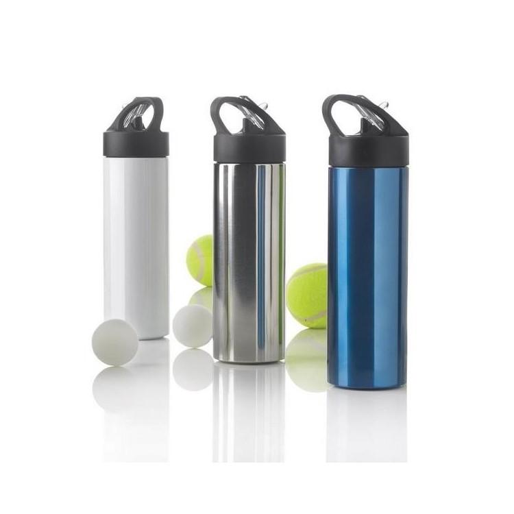 Bouteille d'eau avec paille Sport - Gourde à prix grossiste