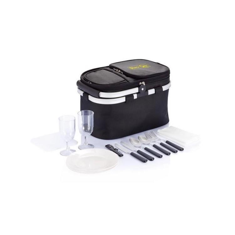 Panier pliable pique-nique à prix grossiste - Accessoire de pique-nique à prix de gros