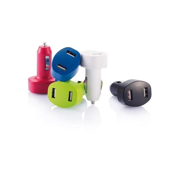 Double chargeur allume-cigare USB - Prise allume-cigare à prix grossiste