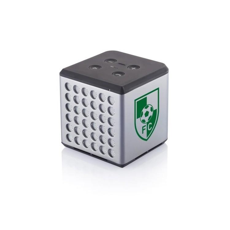 Enceinte carrée Sound 1200mAh à prix grossiste - Accessoire pour tablettes à prix de gros