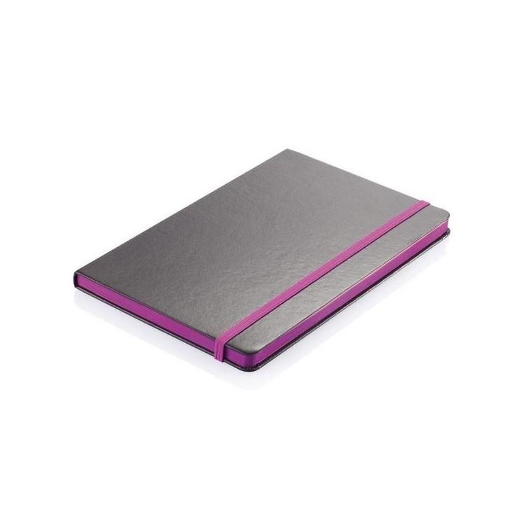 Carnet A5 à couverture rigide et bord coloré à prix grossiste - Bloc-notes à prix de gros