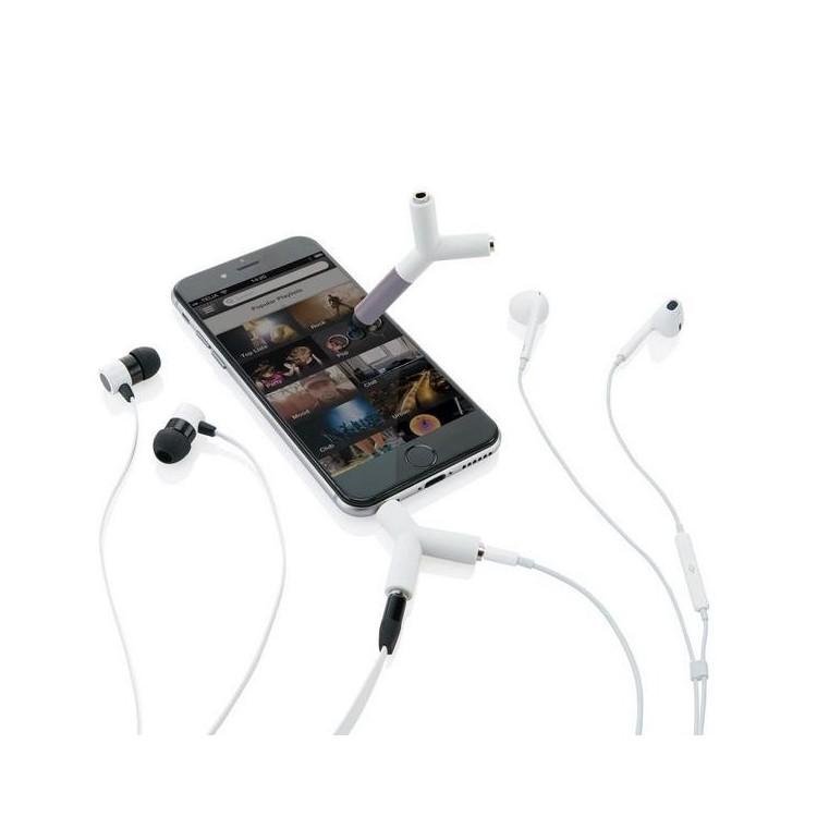 Séparateur audio et stylo tactile - Casque audio à prix grossiste