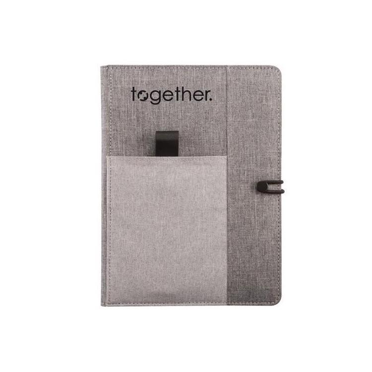 Housse avec carnet de notes A5 Kyoto - Accessoire de maroquinerie à prix de gros