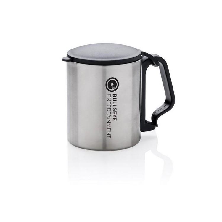 Mug avec anse mousqueton à prix de gros - Mug isotherme à prix grossiste