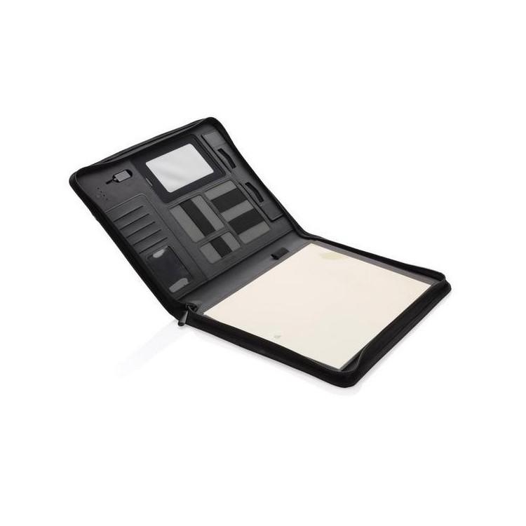 Conférencier technique avec batterie de secours - Etui tablette à prix grossiste