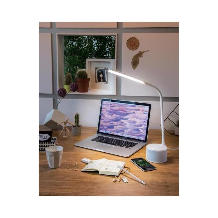Lampe et enceinte rechargeable USB - Accessoire pour tablettes à prix grossiste