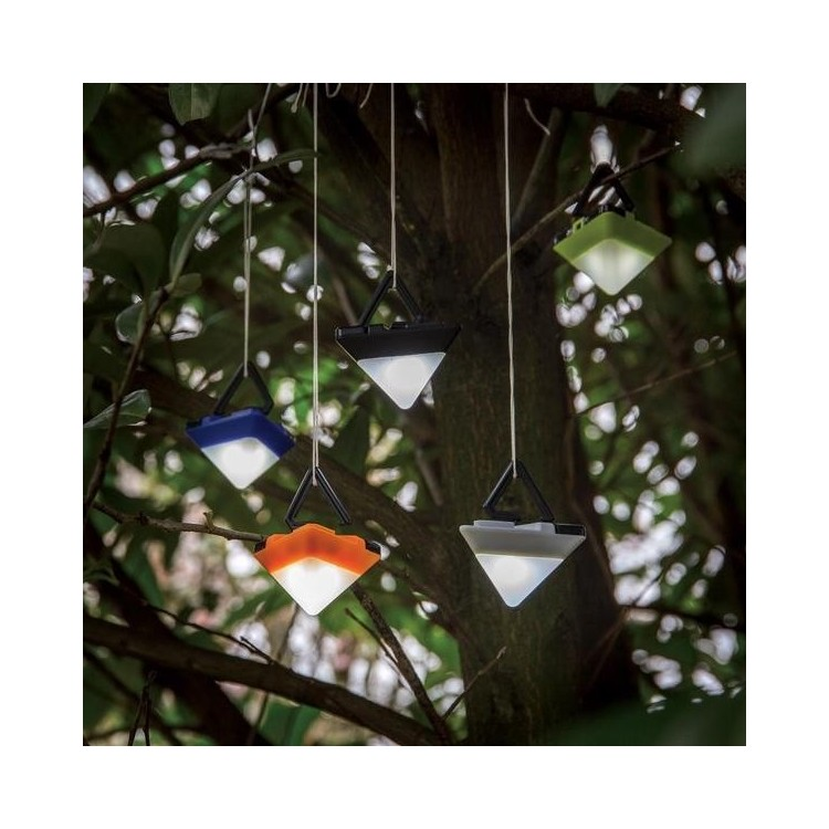 Mini lampe triangulaire à prix grossiste - Matériel de camping à prix de gros