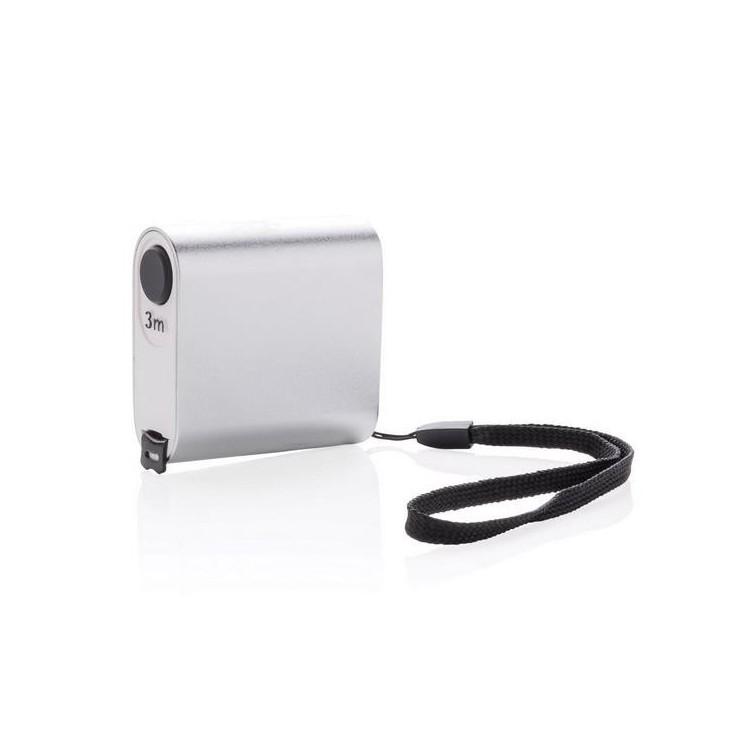Mètre ruban moderne en aluminium - 3m/13mm à prix grossiste - Mètre ruban à prix de gros