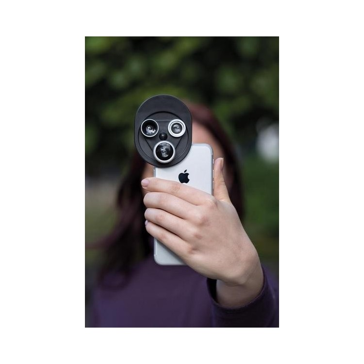 Clip lentille 3-en-1 - Photo numérique à prix grossiste