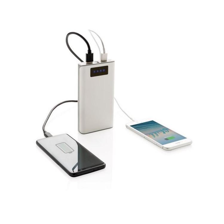 Batterie de secours 10.000 mAh avec écran - Accessoire pour tablettes à prix de gros
