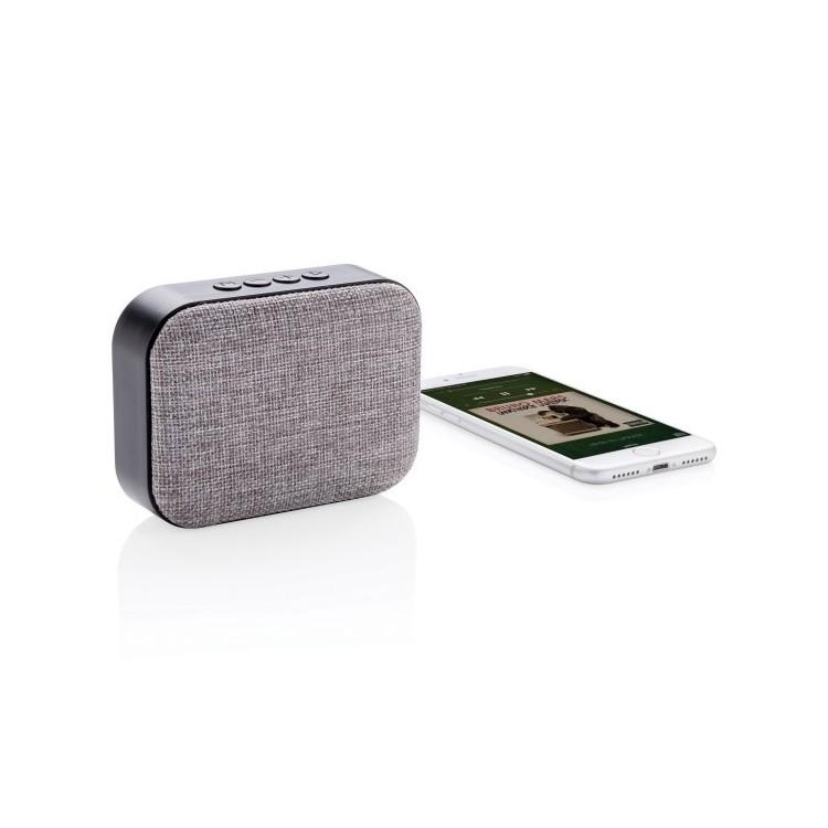 Haut-parleur 3W finition tissu à prix grossiste - Enceinte à prix de gros
