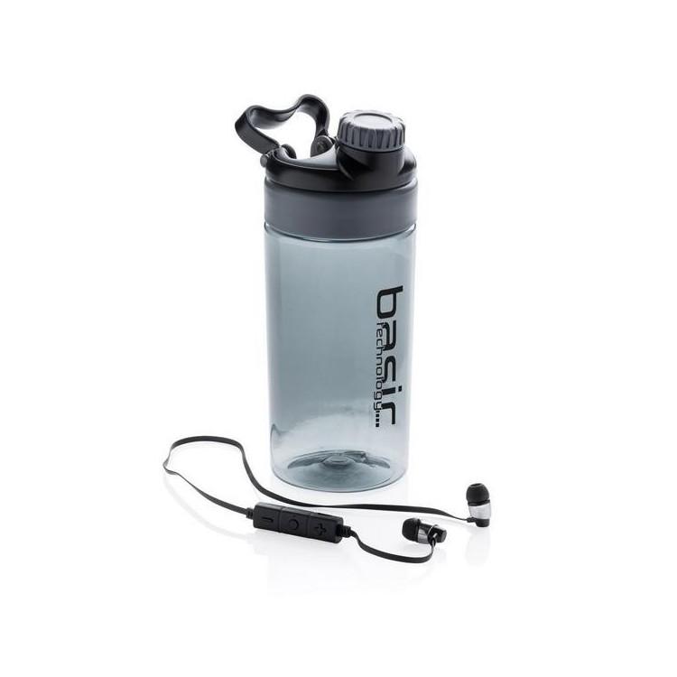 Bouteille étanche avec écouteurs sans fil à prix grossiste - Accessoire de randonnée à prix de gros
