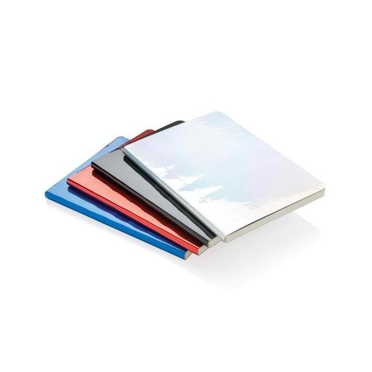 Carnet de notes A5 métallique à prix de gros - Bloc-notes à prix grossiste