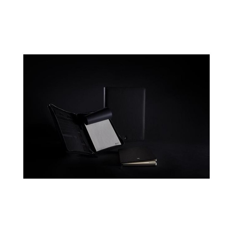 Conférencier A5 avec fermeture à zip Héritage - Accessoire pour tablettes à prix de gros