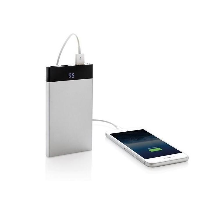 Batterie de secours plate 6000 mAh avec affichage digital à prix grossiste - Accessoire pour tablettes à prix de gros