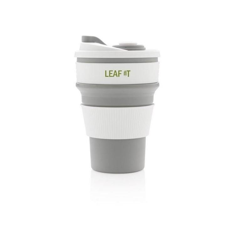 Mug en silicone pliable à prix de gros - Accessoire de pique-nique à prix grossiste