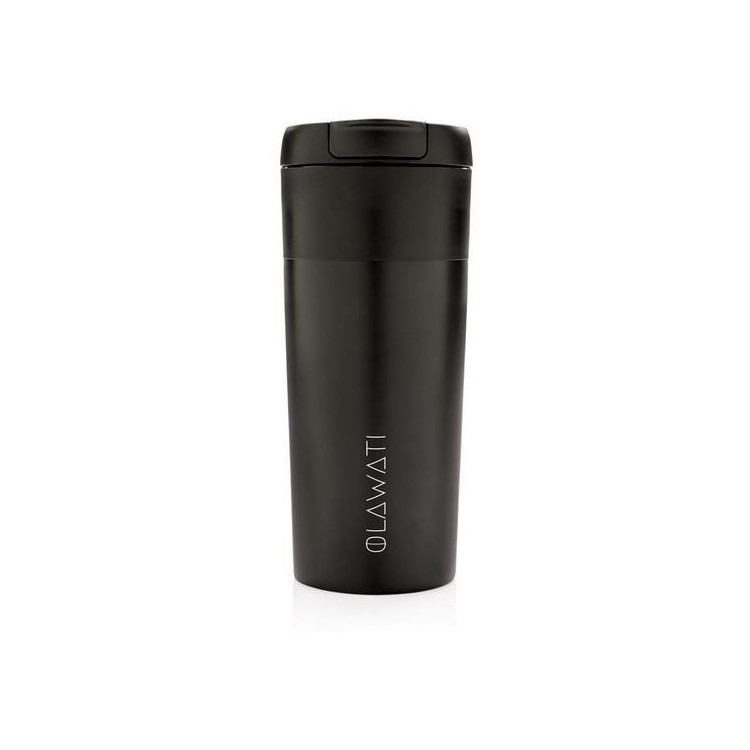 Mug avec bouchon à clapet - Mug isotherme à prix de gros